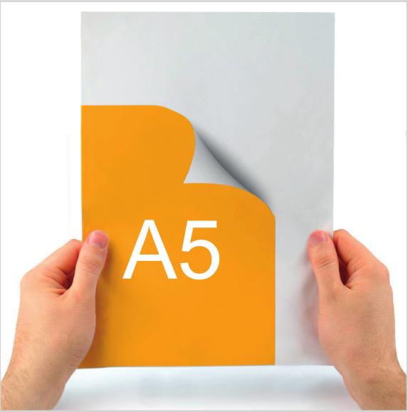 tlač samolepiek A5